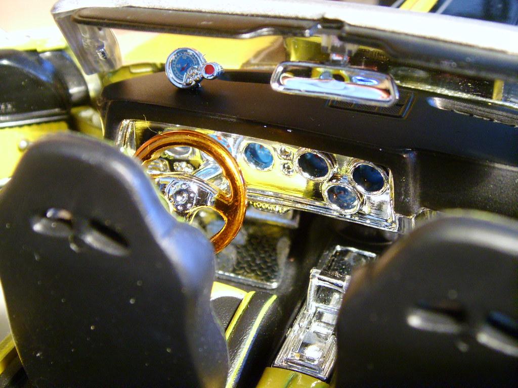 Custom Interior of 1971 Chevrolet Chevelle SS