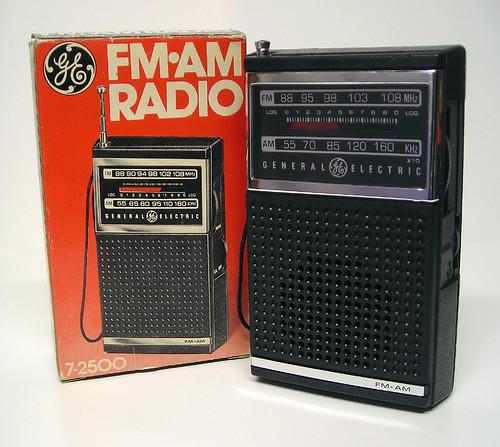Radio 1970 Portable Radio 1970's