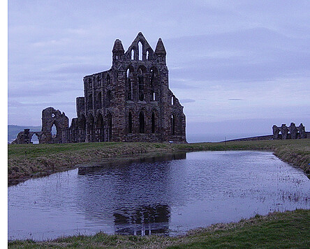 Whitby Abbey ruins, Yorkshire, England