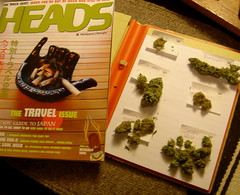 Heads and cannabis nugs