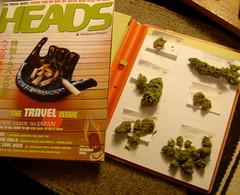 Heads and cannabis nugs