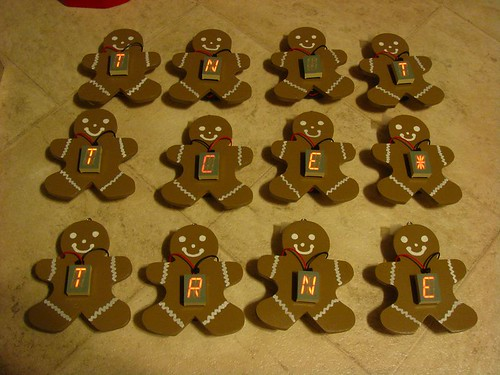 Gingerbread readerboards