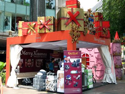 Christmas Product Kiosk