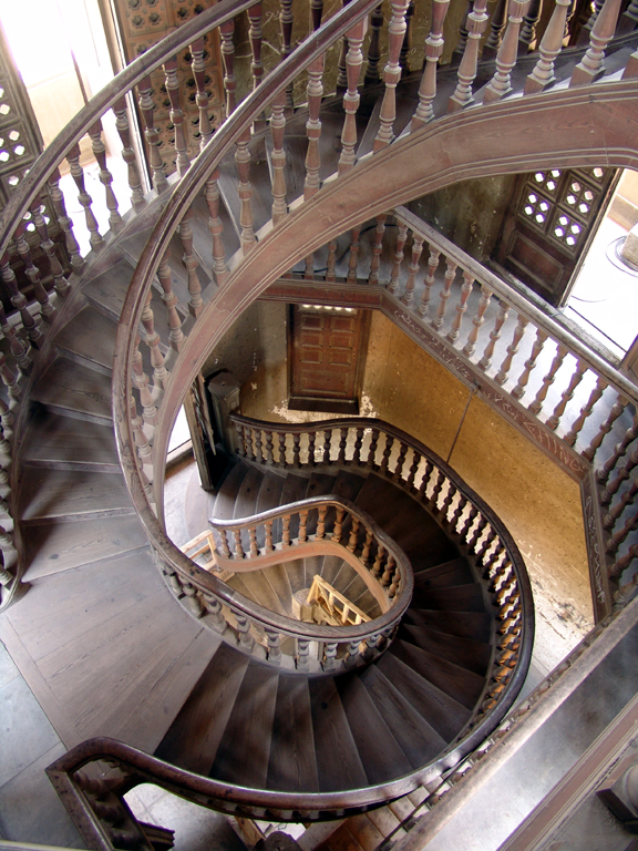 Baron Empain's Palace Stairs