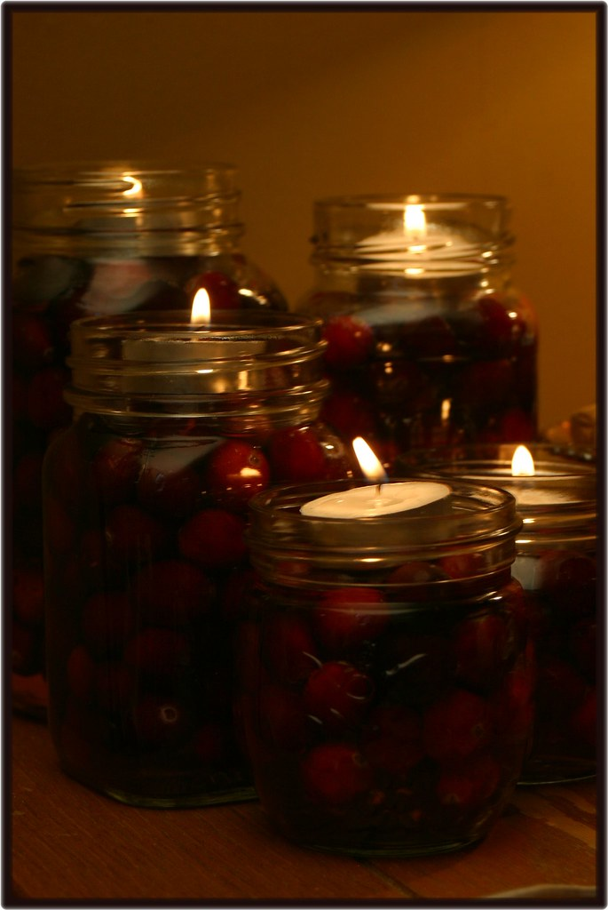 Cranberries in a Jar