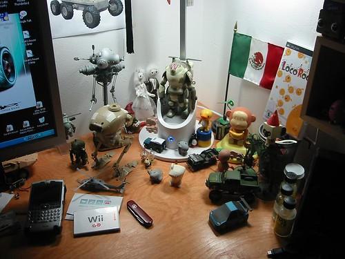 My desk/workspace (12-27-2006)