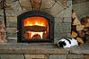 "The Morning ""Burn"" (Energy Sufficiency in Southern Vermont) (roddh) Tags: wood white black cat nikon energy vermont raw masonry d70s stove heater heat acr russian sustainable littlebit efficient roddh energysufficiency"