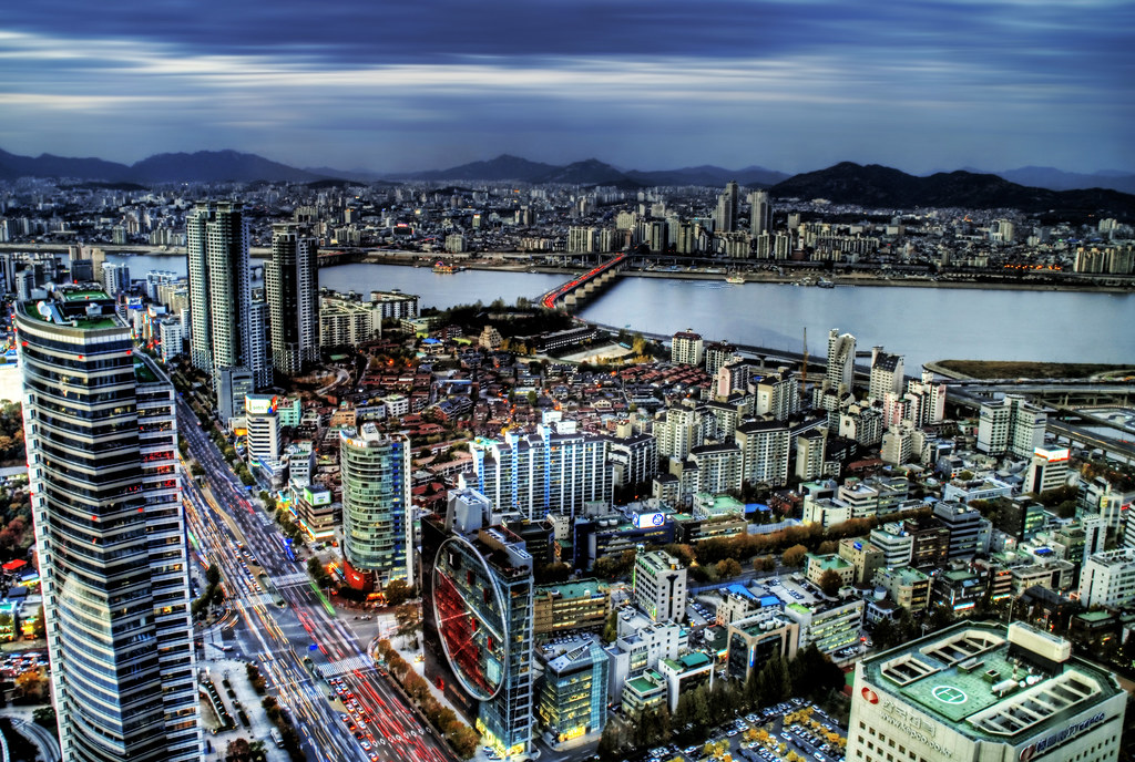 Brake Lights of Seoul