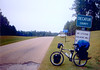 Florida to Alaska on a Bicycle (#6) - April 14, 1997: Lake Seminole, Georgia