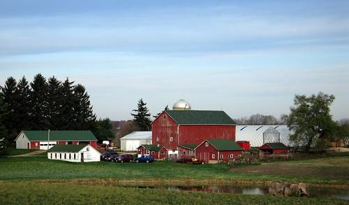 Farmhouse in northern Illinois