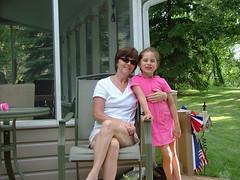 Diana and Brooke (Gary585) Tags: lake cabin 4thofjuly independanceday