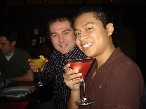 New Year's /></a><br /><em>Trevor and Ly with their drinks</em></p> <p><a href=