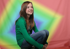Kaitlin 1966 (casch52) Tags: california portrait 20d geometric girl smile canon photo topv555 60s background topv1111 young teen photograph teenager 1960s psychedelic alegre adolescent kaitlin 1000views 1500views explorer67 familygetty