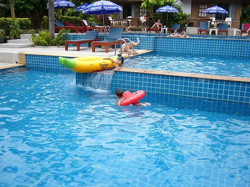 サムイ島-pool @ chaweng cove resotel