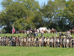 Confederate Battle Line