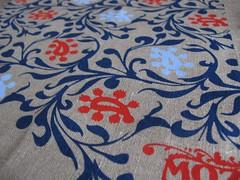 Paisley Mozi designs tea towel