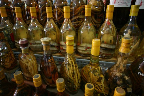 Vietnamese snake wine...Enjoy!