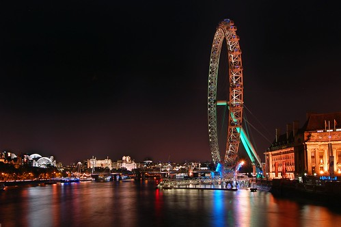 london eye skyline. London Eye skyline. Another cliched shot- this is my take on it.