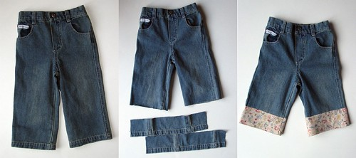 Altered Jeans