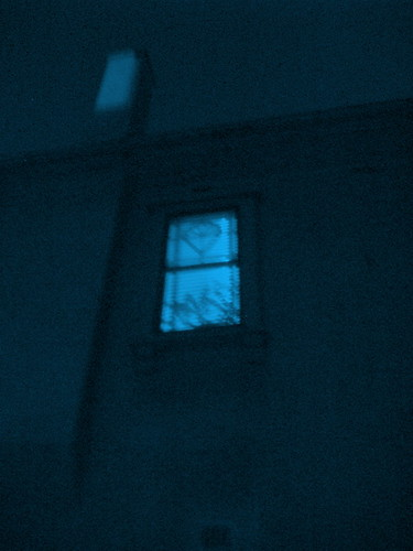 Blue Light Window