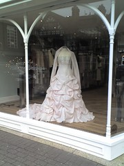 random wedding dress from town
