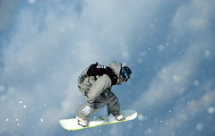 Snowboard Air