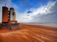 Shifting Sands (Sean Bolton (no longer active)) Tags: sea sky cloud tower beach water swansea wales coast sand wind cymru observatory coastal orton shifting abertawe seanbolton toweroftheecliptic ffotocymrucouk ffotocymru