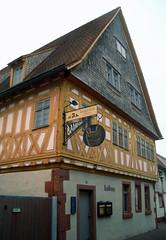 Historisches Badhaus Dieburg (arosenhagen) Tags: dieburg historisch fachwerkhaus badhaus