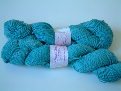 Lorna's Laces Shephard Sock- Turquoise