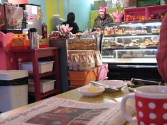 Bleeding Heart Bakery with Dan and his pal, Michelle and Anita in background.jpg