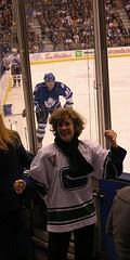 Canuk Fan amidst Leafs