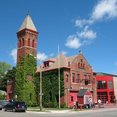 Ypsilanti Fire Station (DecoJim) Tags: station architecture buildings fire michigan ypsilanti