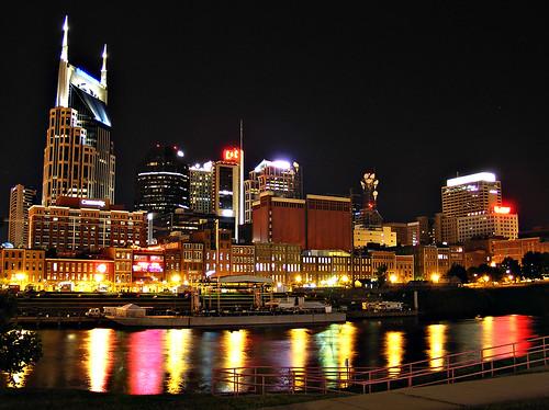 Nashville From the Coliseum