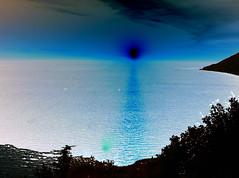 Black Hole Sun (pete4ducks) Tags: travel blue sky sun black thailand asia horizon indianocean manipulation pete phuket tweaked andamansea magicwand inversed pete4ducks peteliedtke