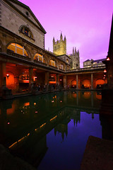 Twilight (Khairul) Tags: city uk travel winter sunset england holiday reflection architecture twilight bath colours roman unitedkingdom lucky worldheritage canonefs1022mmf3545usm abigfave favouritetimeoftheyear