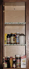 Auxiliary spice cupboard
