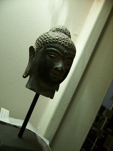 Buddha's head is amused — Jan 18
