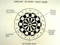 English Dart Game