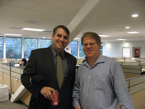 Martin McKeay and Robert Scoble