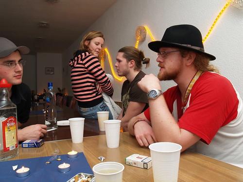 Geburtstagsparty im Vereinshaus 09