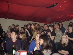 Crowd is AMAZED! (ShowtimeSynergy) Tags: london gig shepherdsbush woodlane cbbc