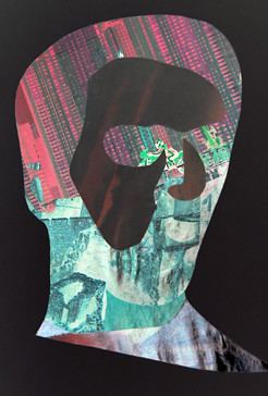 El hombre moderno: collage
