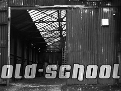 Presentation Slide: Old-School