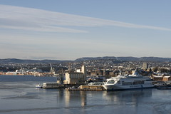 Oslo Harbour (abrenna2006) Tags: oslo ferry dfds
