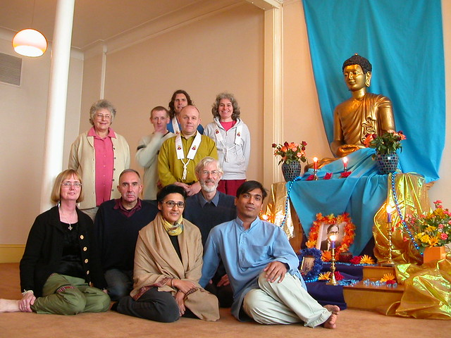 Glasgow Ambedkar Day retreat