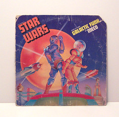 Star Wars - Galactic Funk (Futuregirl_LeahRiley) Tags: vintage disco starwars album coverart rocketman vinyl retro planet record rocket 1977 albumart rocketship meco spacegirl robertrodriguez spacedude galacticfunk