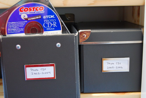 Photo storage -- disks
