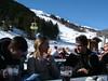 Lunch, day 1 (tom_bennett) Tags: ski meribel freshsnow freshminds