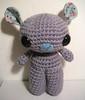 Theo (sereneonion) Tags: bear grey doll handmade crochet amigurumi