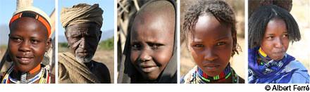 Retratos de Etiopía